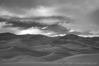 Great Sand Dunes, Infrared