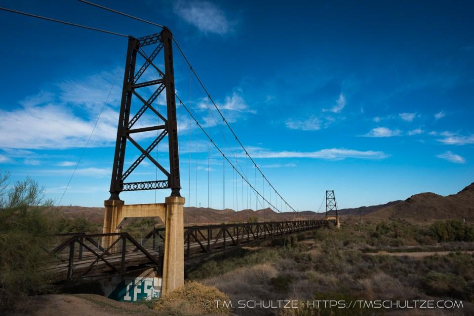 Yuma Bridge To Nowhere, South, by T.M. Schultze