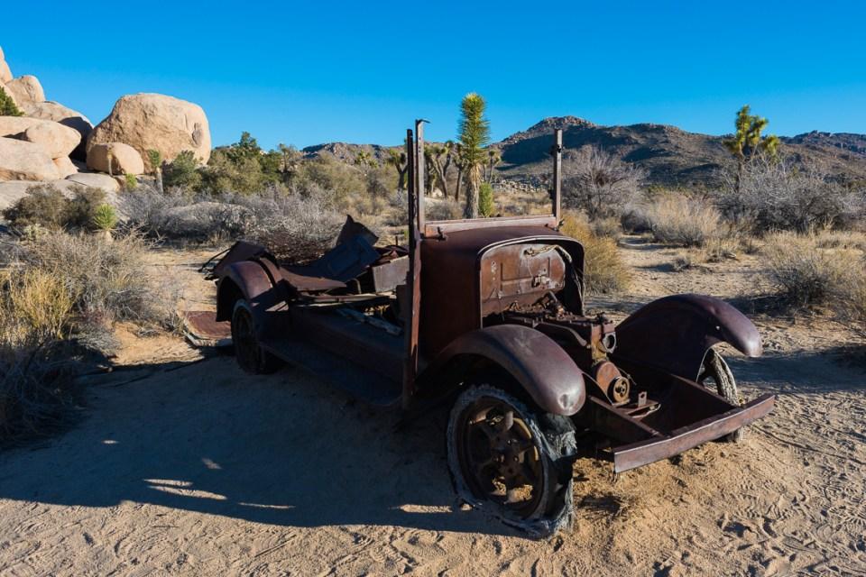Rusty Truck by T.M. Schultze