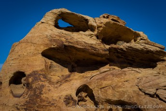 Arch in Muddy Mountain Wilderness