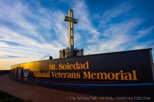 Mt Soledad Sunset by T.M. Tracy Schultze
