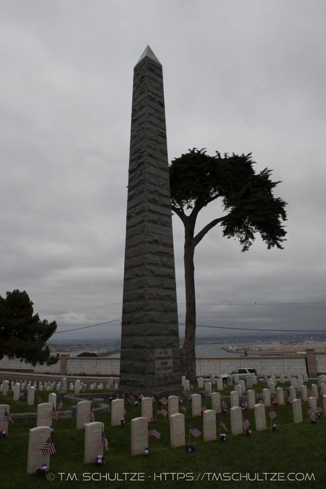Bennington Battle Monument, Black and White, by T.M. Schultze