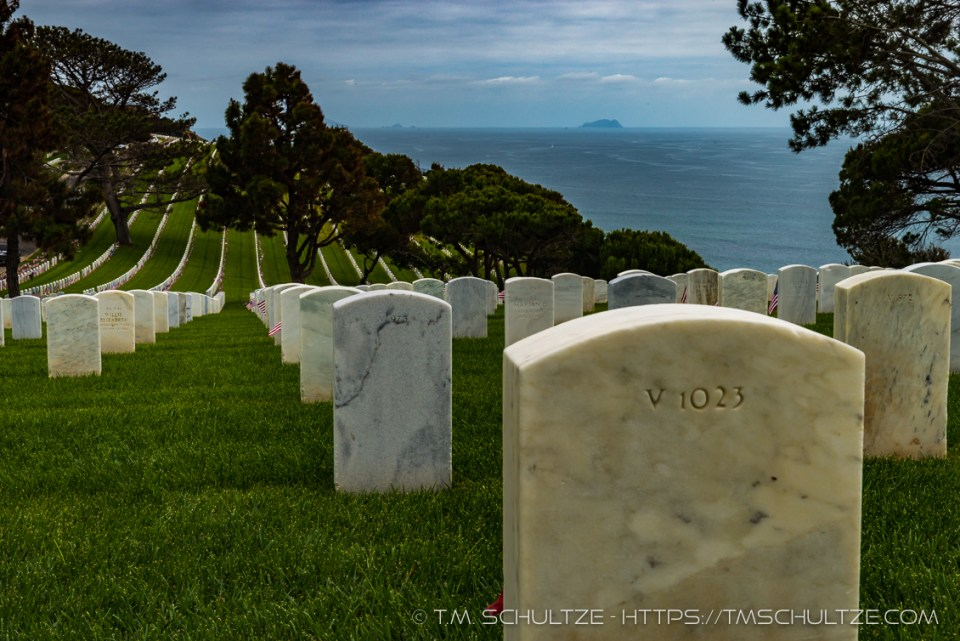 Fort Rosecrans Hillside View by T.M. Schultze