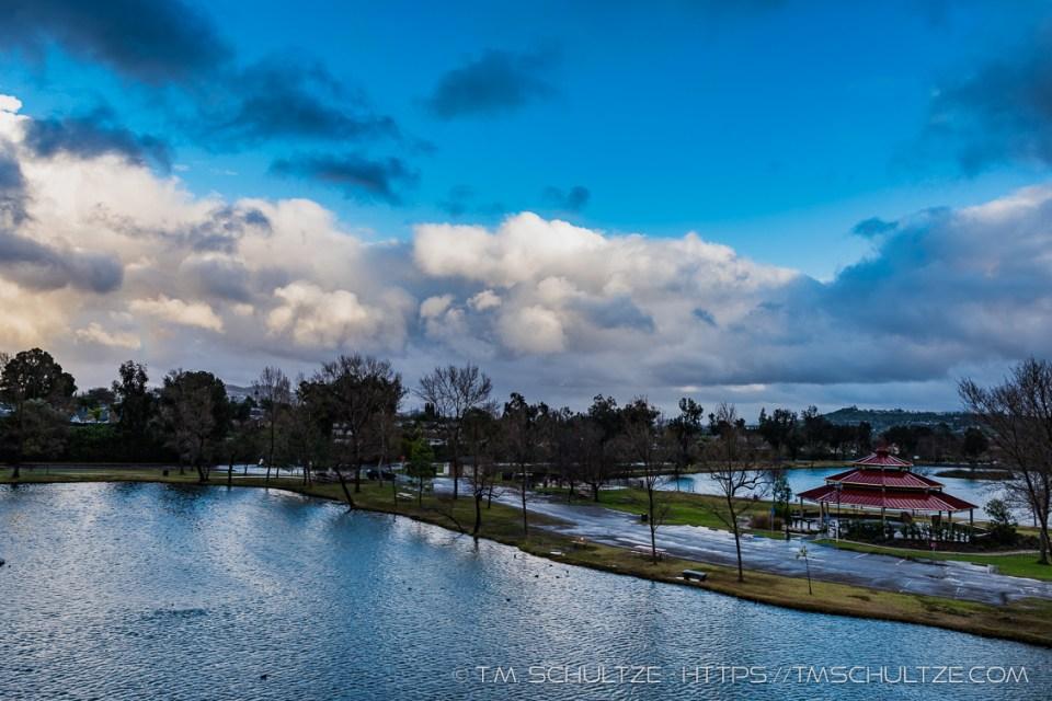 Santee Lakes 2 Stormscape by T.M. Schultze