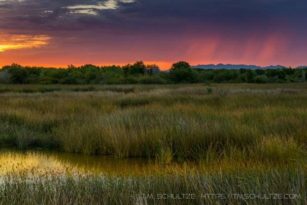 Yuma Storm Glow by T.M. Schultze