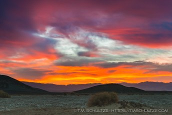 Death Valley Sunrise, Mesquite
