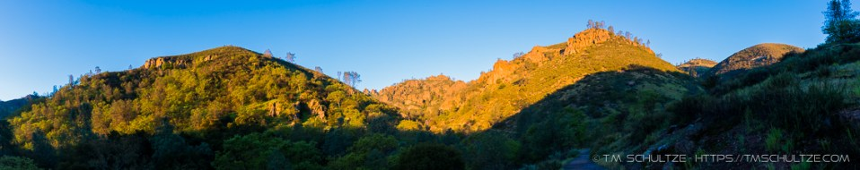 Condor Gulch Panorama by T.M. Schultze