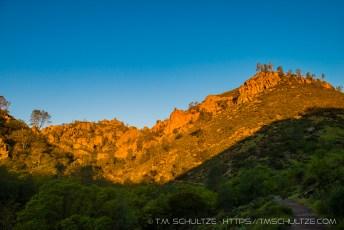 Condor Gulch Trail, Sunrise, Pinnacles National Park