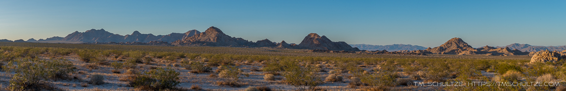 South Mojave Trails Panorama