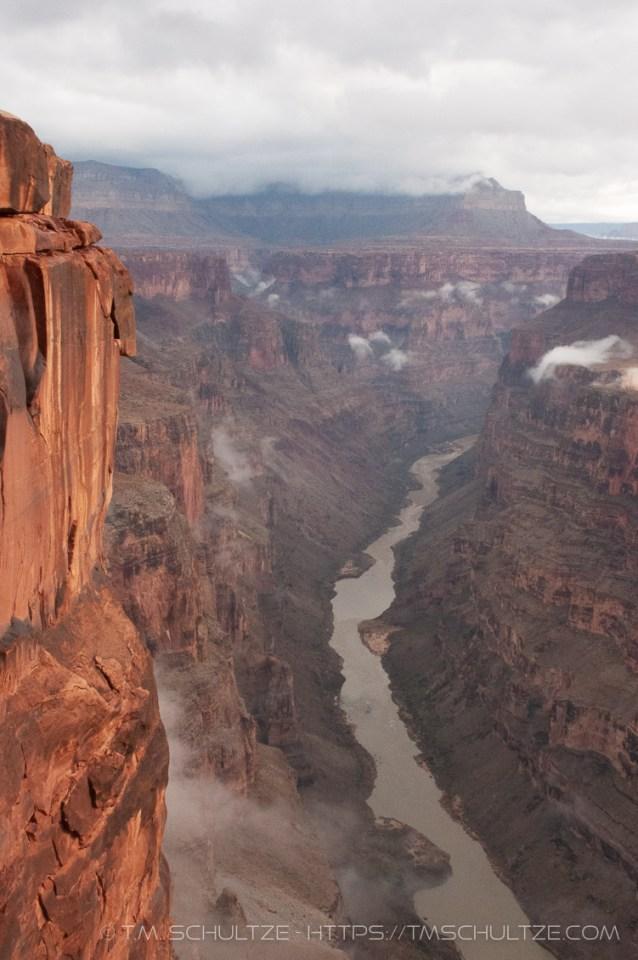 Toroweap, Grand Canyon, Storm, by T.M. Schultze