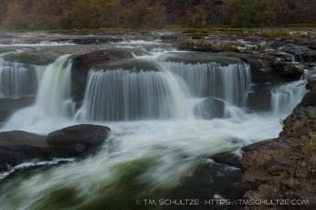 Sandstone Falls, New River