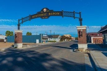 Ripon Stockton Avenue Sign