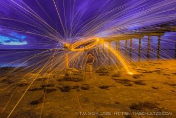 Scripps Pier Steel Wool