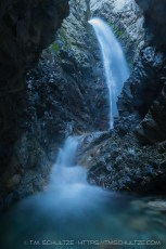 Zapata Falls Canyon