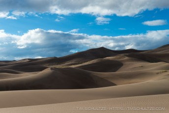 Sand Dunes To Clouds