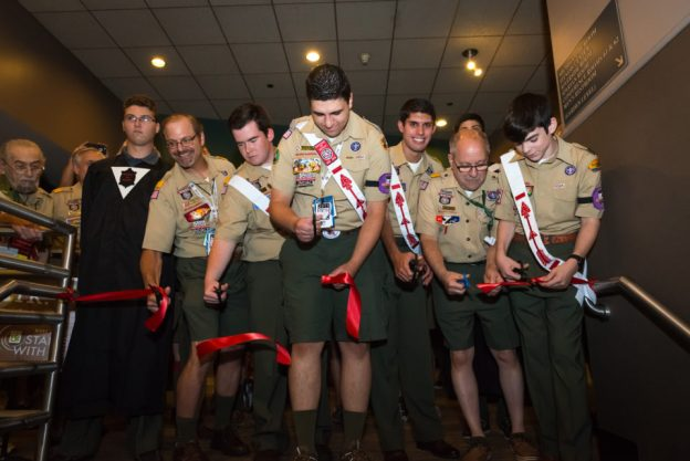 Ribbon Cutting to open the 2015 NOAC GEO Museum by T.M. Schultze