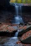 Blue Hen Falls And Cascade by T.M. Schultze