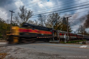 Cuyahoga Rail Crossing