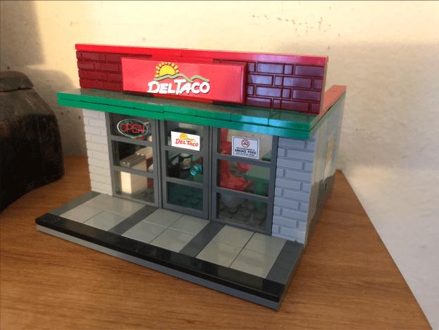 Del Taco Lego Set