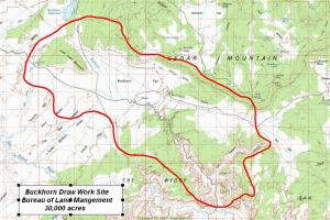 Buckhorn Draw Coverage Map