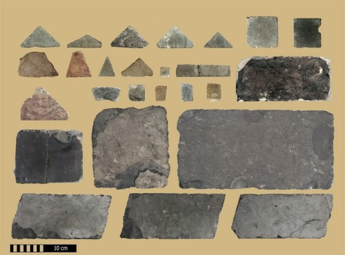 Opus Sectile floor tiles from Temple Mount courts during the Herodian Period