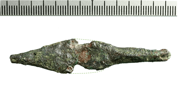 arrowhead from the First Temple period