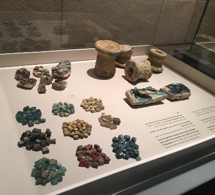 TMSP artifacts at the Rockefeller exhibition