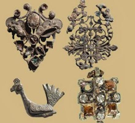 תכשיטים שהתגלו בסינון