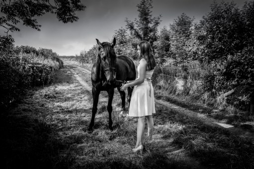 A Girl and her Horse (1 of 1)