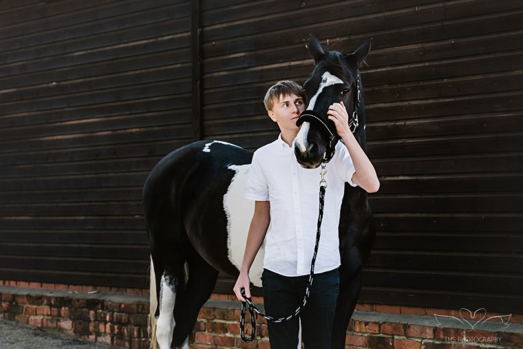 horse and owner photoshoot