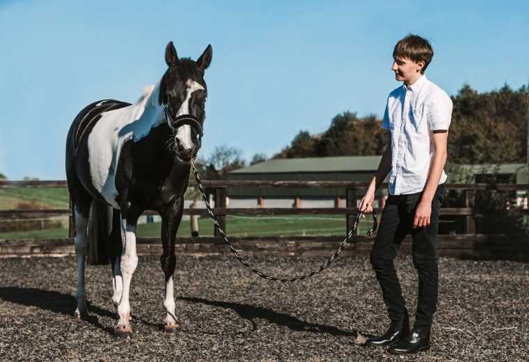 horse and rider - equine photographer