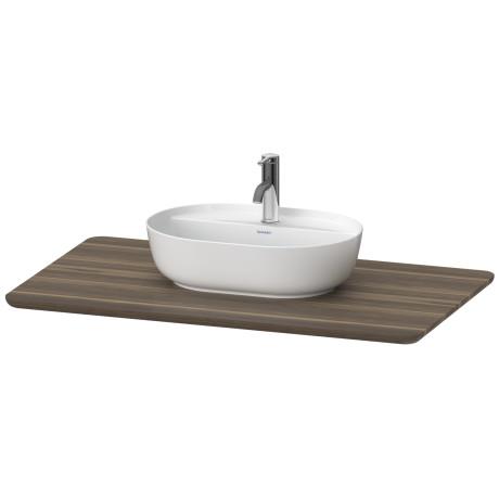 toilette bois massif lu9464 duravit