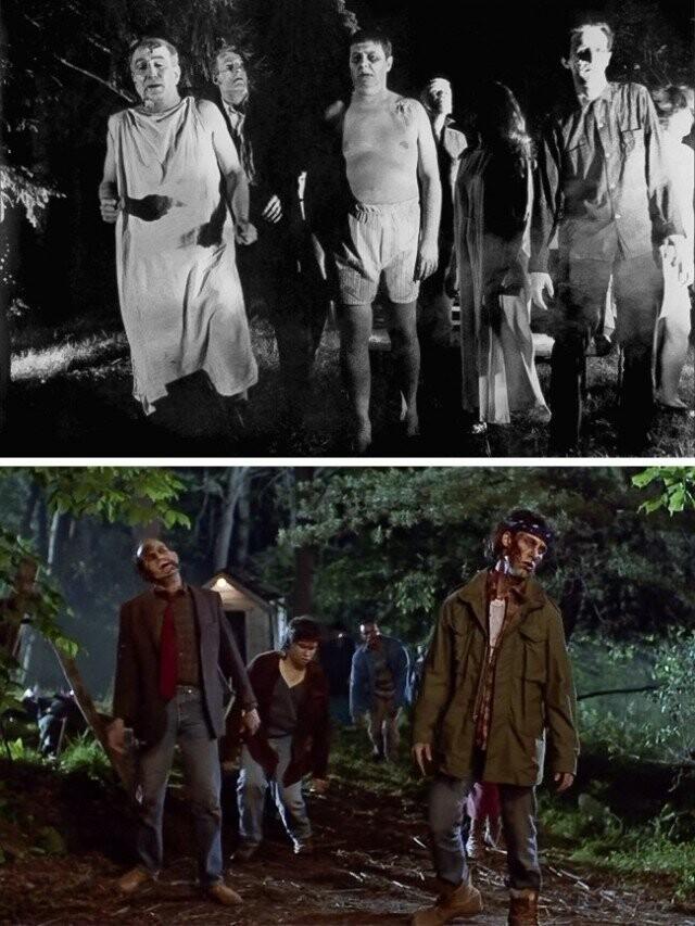 """""""شب زنده ماندن"""" 1968 و 1990"""