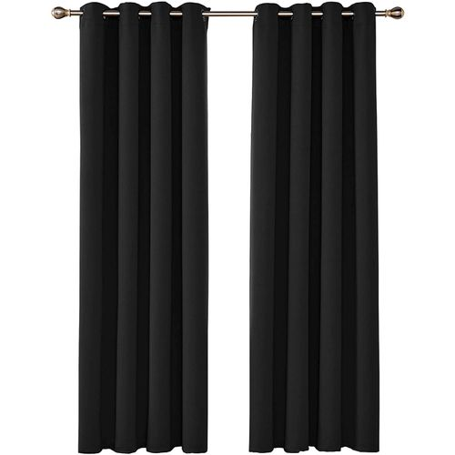 espacedeco tn rideau occultant lourd a oeillets noir velour prix tunisie
