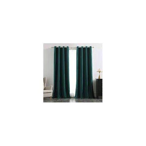 espacedeco tn rideau occultant lourd a oeillets velour vert foret prix tunisie