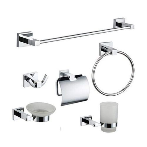 bathroom set de 6 accessoire de salle de bain prix tunisie