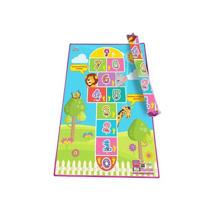 tapis chambre enfant jeu deco 1m50 1m la marelle interactif