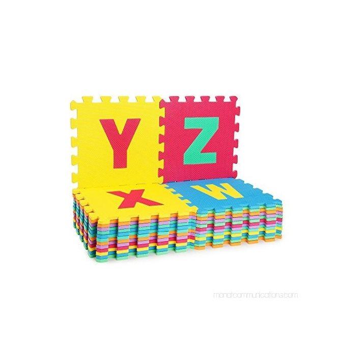 tapis puzzle alphabet avec 26 pieces pour bebe