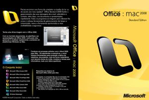 Office 2008 DVD Box
