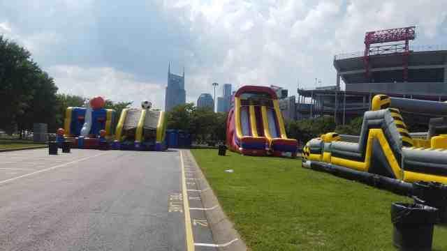 bouncy rentals nashville