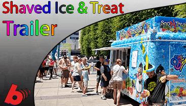 Shaved ice Truck Rentals