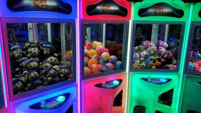 Claw Machine Rentals