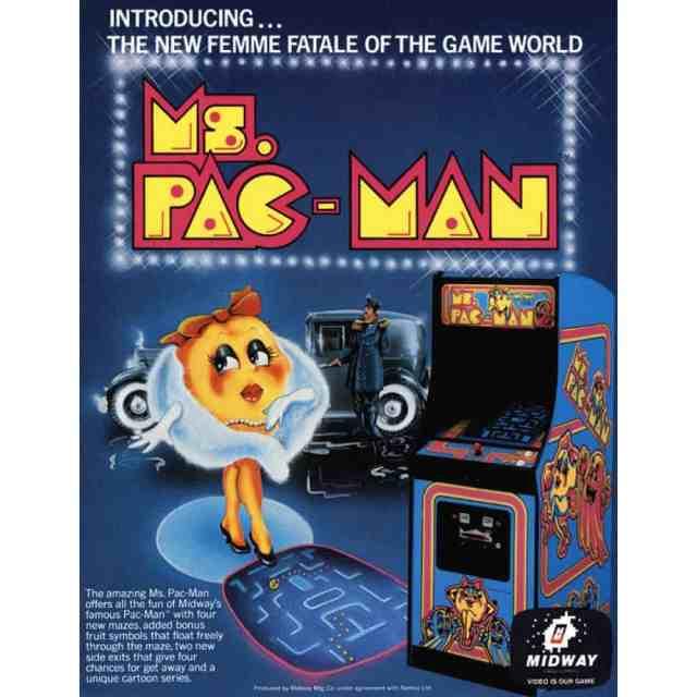 Ms. Pacman Arcade Rentals