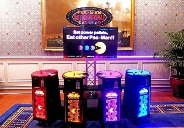 4 Player Pac Man Battle Royal