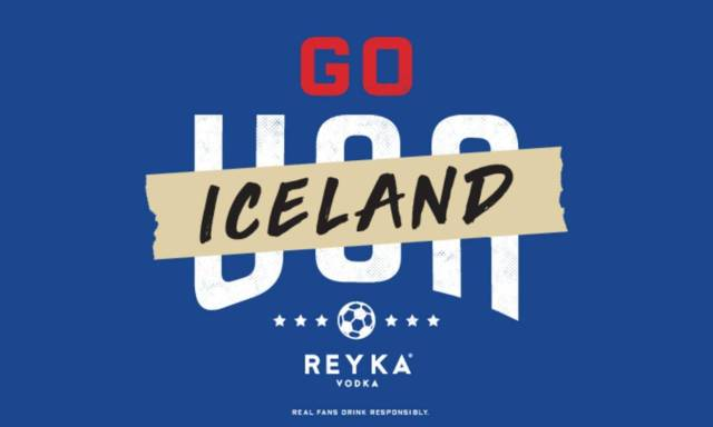 Reyka Vodka Calls On U S  Fans To Root For Iceland In World