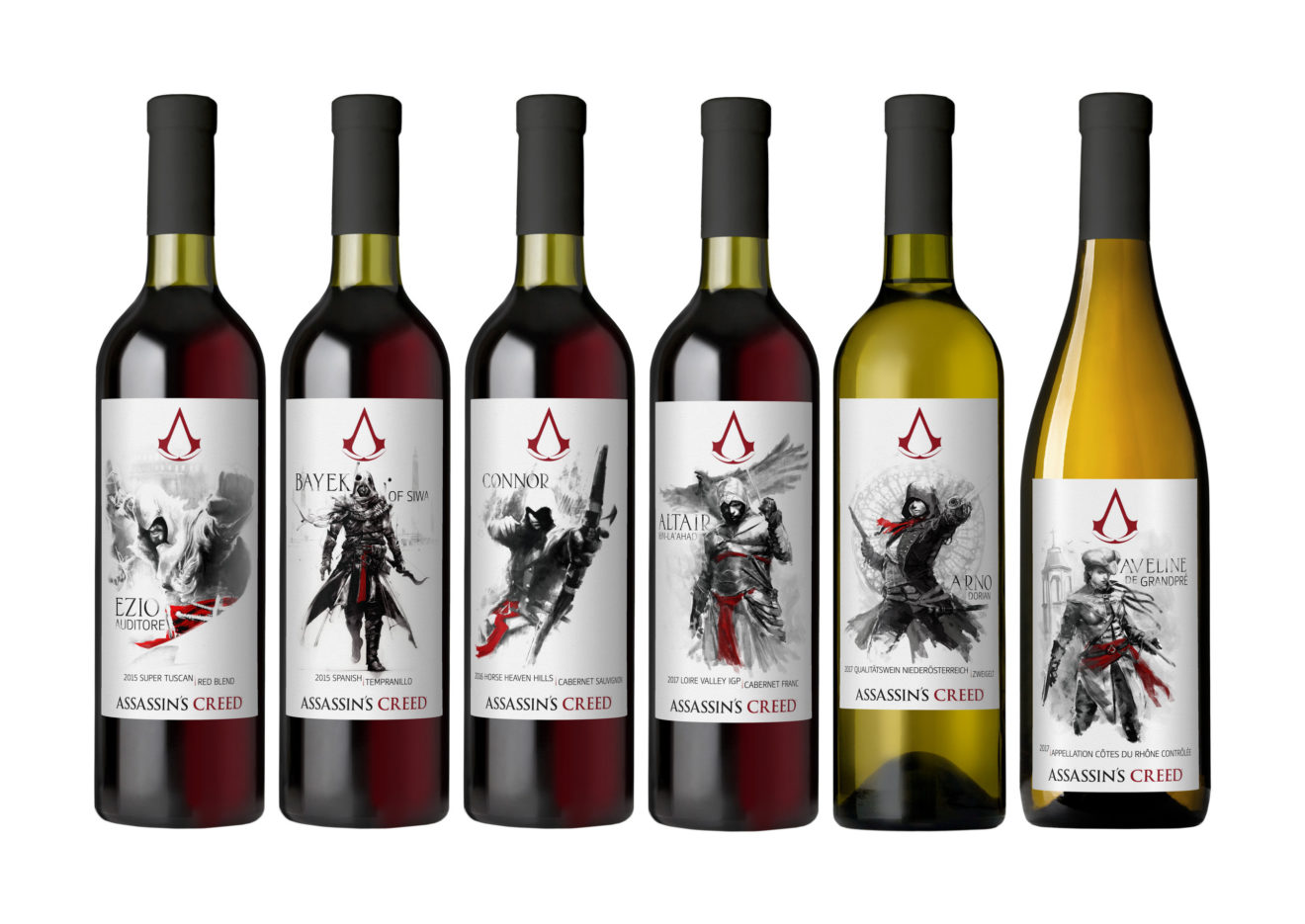 Lot18.com And Ubisoft® Launch New Assassin's Creed® Wine Collection Inspired By The Hit Franchise