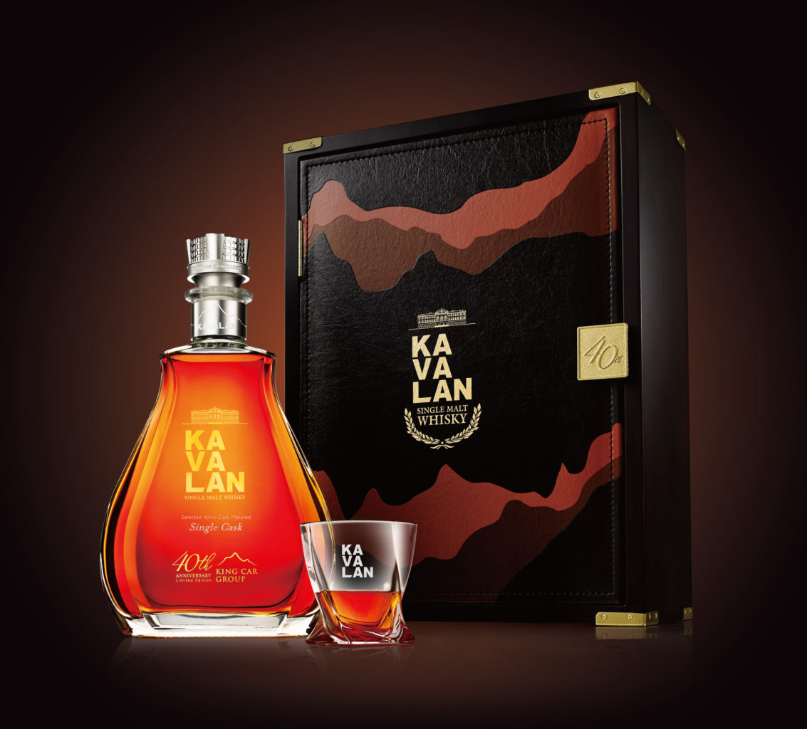 Kavalan's Latest Bottle Features a Studded Crown Fit For a King