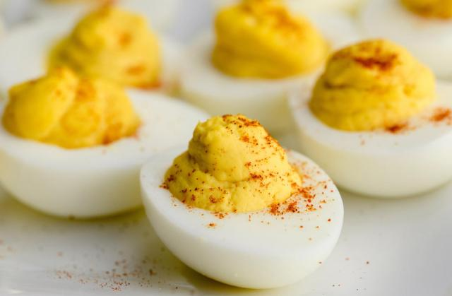 Easy Deviled Eggs A