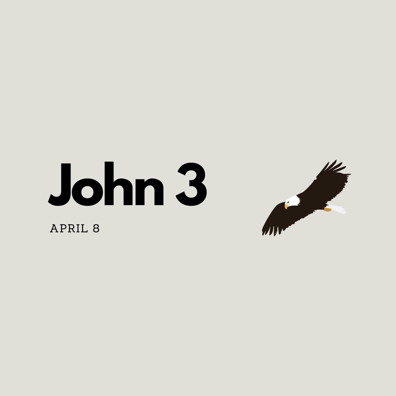 April 8: John 3