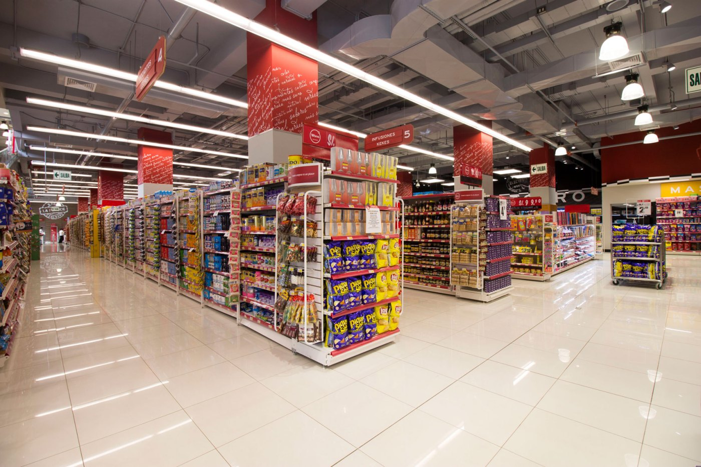 Supermercado Wong | TNC Contratistas